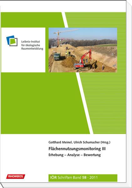 Flächennutzungsmonitoring III - Coverbild