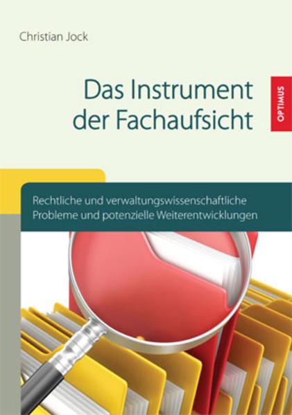 Das Instrument der Fachaufsicht - Coverbild