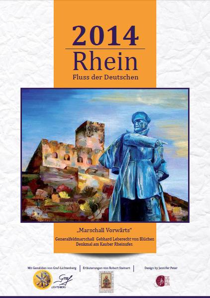 Rhein. Fluss der Deutschen - Kalender 2014 (DIN A3 längs) - Coverbild