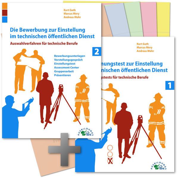 Die Bewerbung und der Eignungstest /Einstellungstest zur Einstellung im technischen öffentlichen Dienst - Coverbild