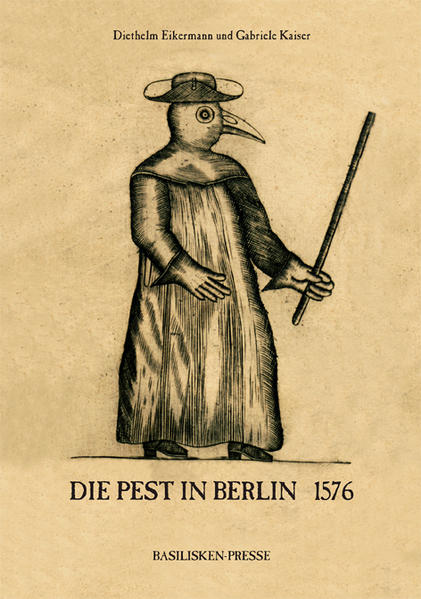 Die Pest in Berlin 1576 - Coverbild