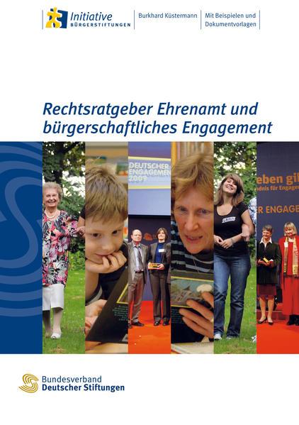 Rechtsratgeber Ehrenamt und bürgerschaftliches Engagement - Coverbild