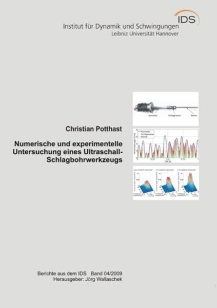 Numerische und experimentelle Untersuchung eines Ultraschall- Schlagbohrwerkzeugs - Coverbild