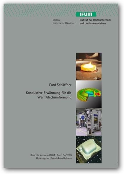 Konduktive Erwärmung für die Warmblechumformung - Coverbild