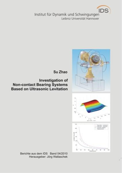 Investigation of Non-contact Bearing Systems Based on Ultrasonic Levitation - Coverbild