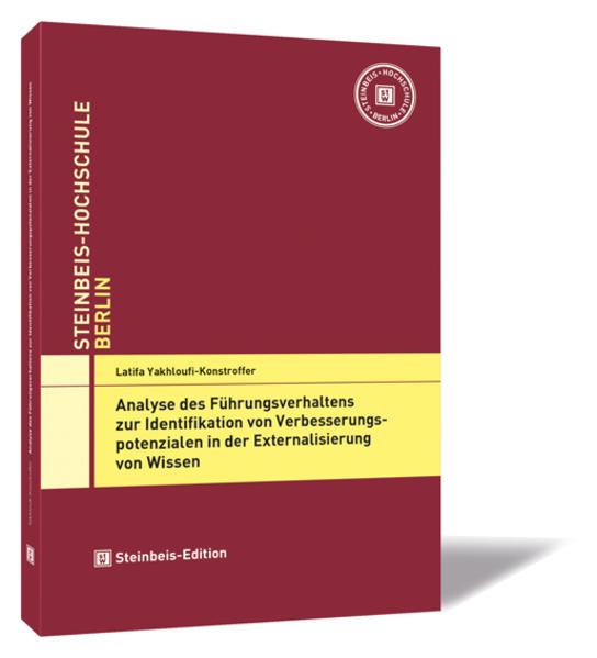 Analyse des Führungsverhaltens zur Identifikation von Verbesserungspotenzialen in der Externalisierung von Wissen - Coverbild