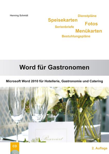 Word 2010 für Gastronomen - Coverbild