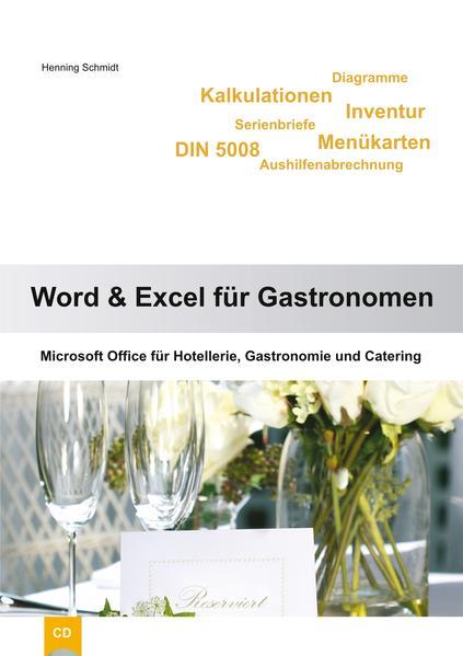 Word 2010 und Excel 2010 für Gastronomen - Coverbild