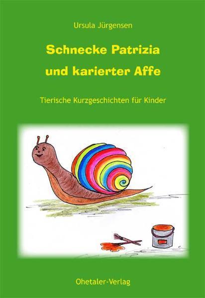 Schnecke Patricia und karierter Affe - Coverbild