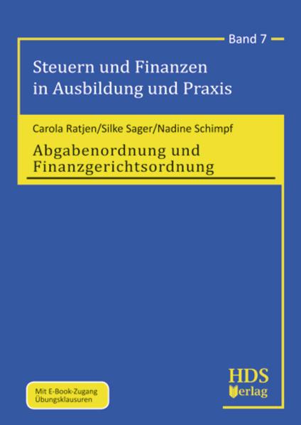 Steuern und Finanzen in Ausbildung und Praxis / Abgabenordnung und Finanzgerichtsordnung - Coverbild