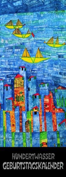 Hundertwasser Geburtstagskalender - Coverbild