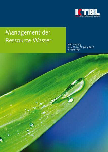 Management Ressource Wasser - Coverbild