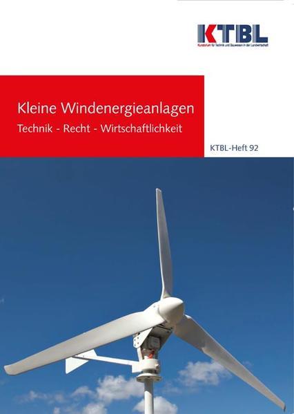 Kleine Windenergieanlagen - Coverbild