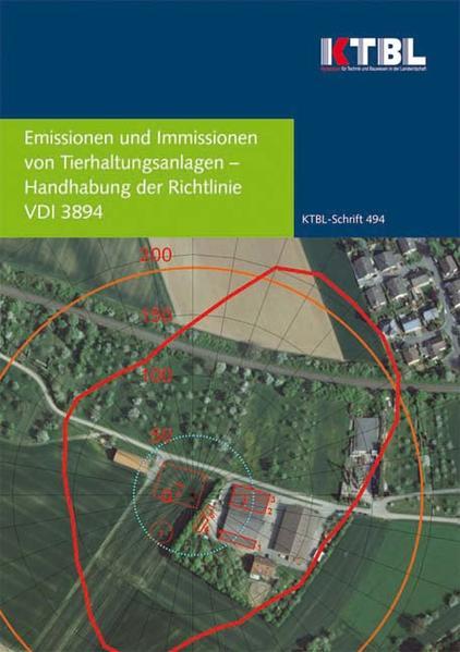Emissionen und Immissionen  von Tierhaltungsanlagen  - Coverbild