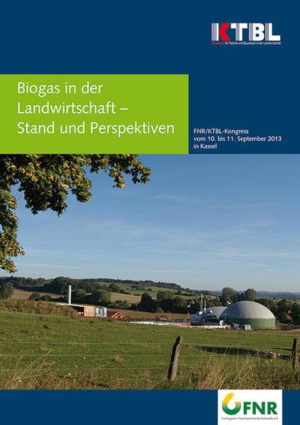 Biogas in der Landwirtschaft - Stand und Perspektiven - Coverbild