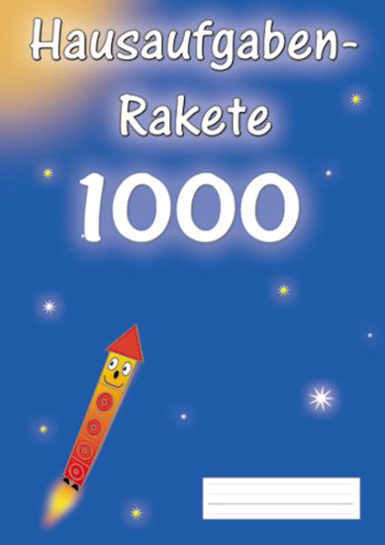 Hausaufgabenrakete 1000 - Coverbild