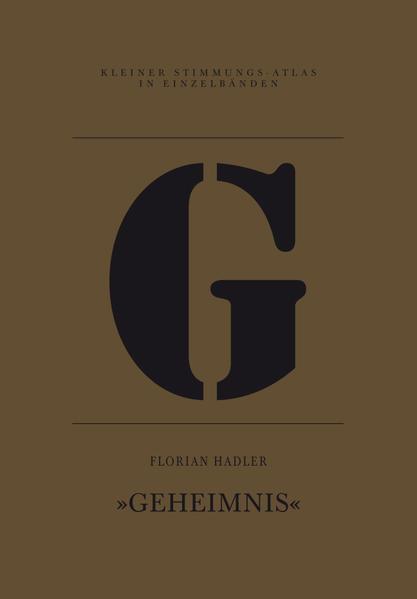 G – Geheimnis - Coverbild
