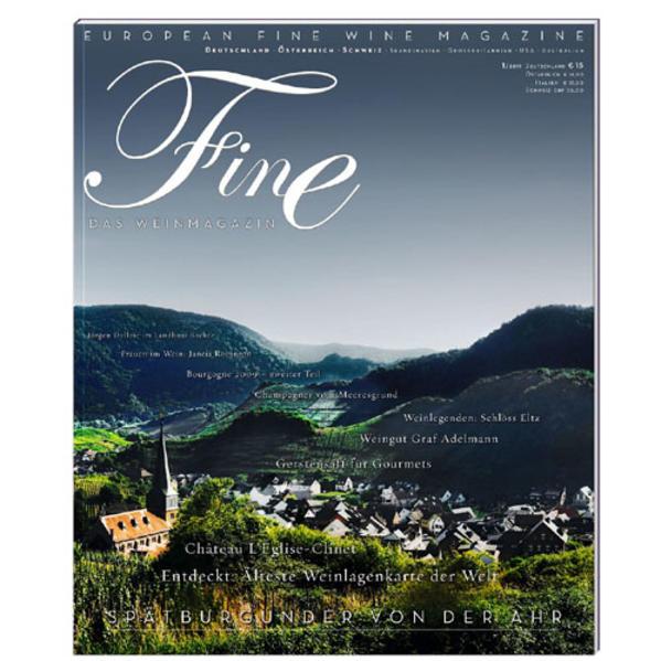 FINE Das Weinmagazin 01/2011 - Coverbild