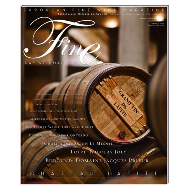FINE Das Weinmagazin 04/2012 - Coverbild