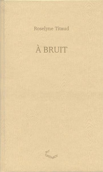 A Bruit - Coverbild
