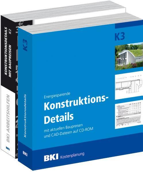 BKI Konstruktionsdetails K2 & K3 - Coverbild