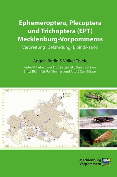 Ephemeroptera, Plecoptera und Trichoptera (EPT) Mecklenburg-Vorpommerns - Coverbild