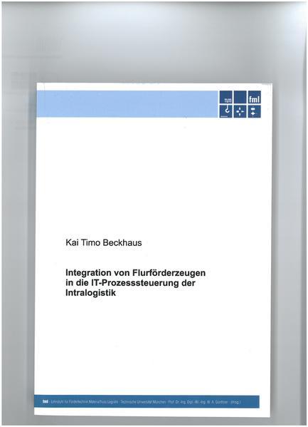 Integration von Flurförderzeugen in die IT-Prozesssteuerung der Intralogistik - Coverbild