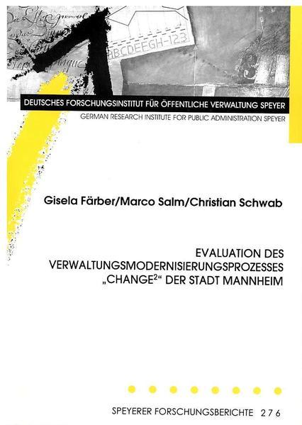 Evaluation des Verwaltungsmodernisierungsprozesses
