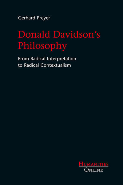 Donald Davidson's Philosophy - Coverbild