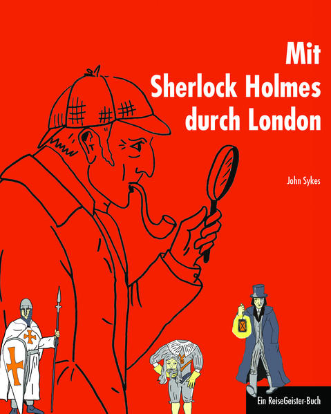 Mit Sherlock Holmes durch London - Coverbild