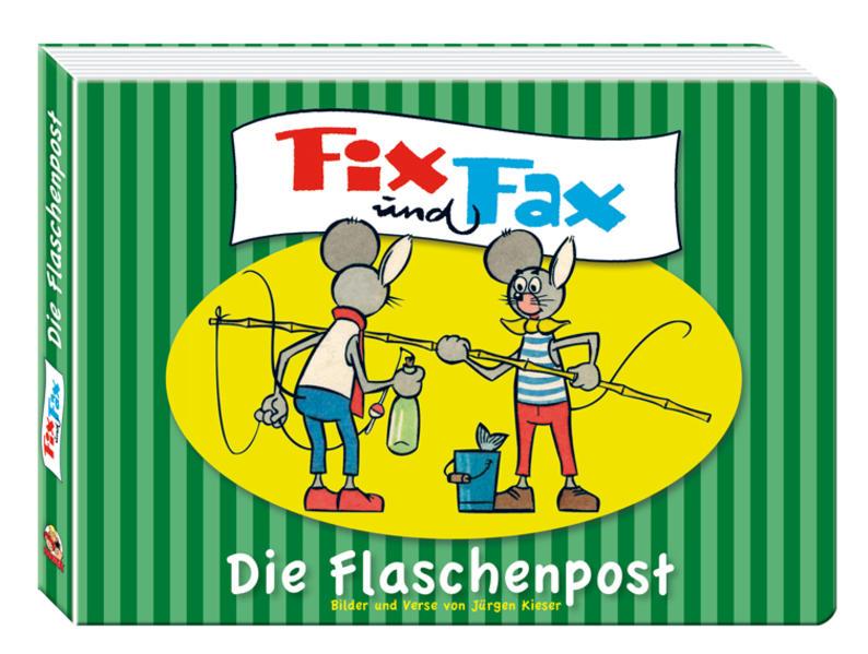 Fix und Fax - Die Flaschenpost - Coverbild