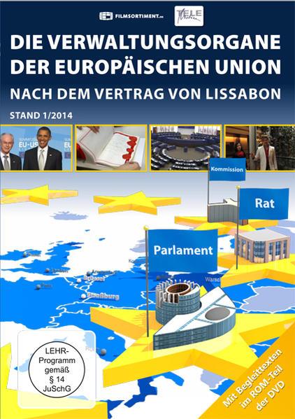 Die Verwaltungsorgane der europäischen Union - Coverbild