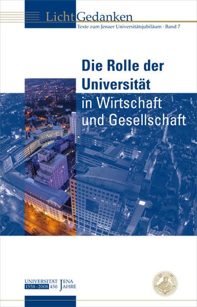 Die Rolle der Universität in Wirtschaft und Gesellschaft - Coverbild