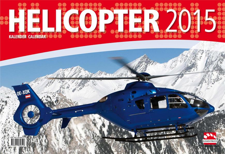Hubschrauber Kalender 2015 - Helicopter - Coverbild