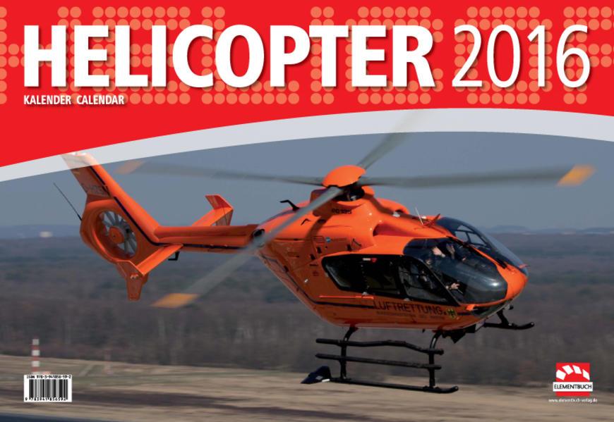 Helicopter - Hubschrauber Kalender 2016 - Coverbild