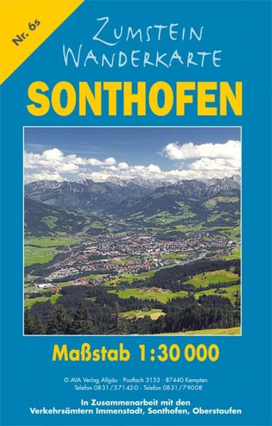 Zumstein Wanderkarte Sonthofen - Coverbild