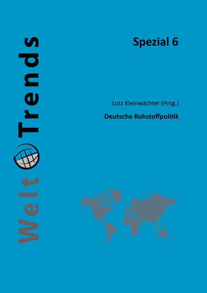 Deutsche Rohstoffpolitik - Coverbild