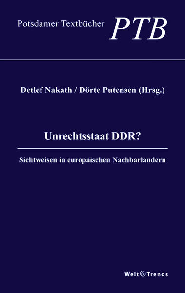 Unrechtsstaat DDR? - Coverbild