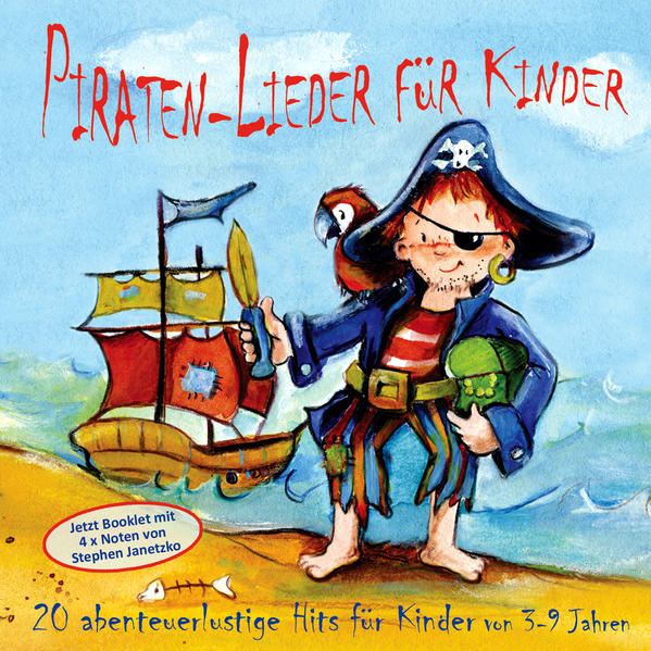 Piraten-Lieder für Kinder - Coverbild