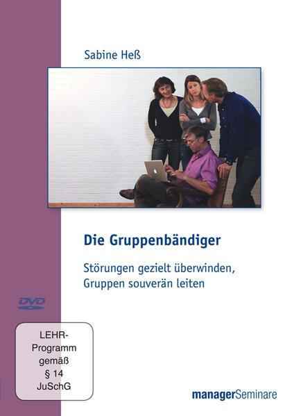 DVD - Die Gruppenbändiger - Coverbild
