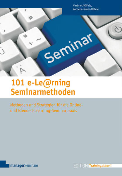 101 e-Learning Seminarmethoden - Coverbild