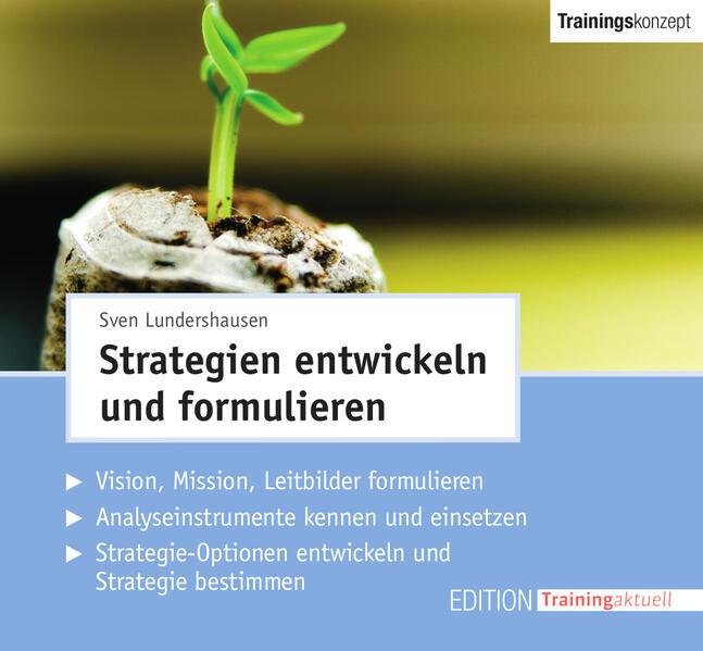 CD-Trainingskonzept: Strategien entwickeln und formulieren - Coverbild