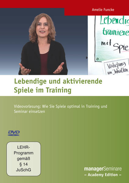 Lebendige und aktivierende Spiele im Training - Coverbild