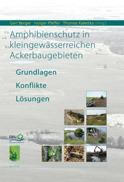 Amphibienschutz in kleingewässerreichen Ackerbaugebieten - Coverbild