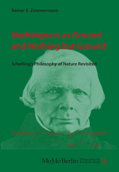 Nothingness as Ground and Nothing but Ground - Coverbild