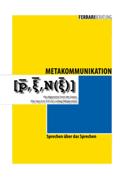 Metakommunikation - Coverbild