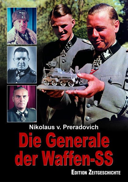 Die Generale der Waffen-SS - Coverbild