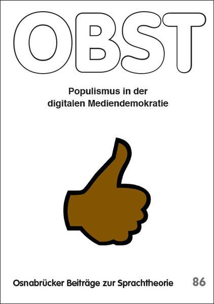 Populismus in der digitalen Mediendemokratie - Coverbild