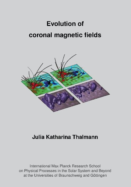 Evolution of Coronal Magnetic Fields - Coverbild