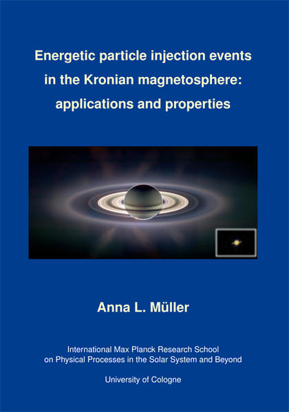 Energetic particle injection events in the Kronian magnetosphere - Coverbild
